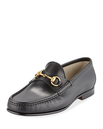 Leather Horsebit Loafer, Cocoa