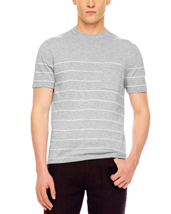 Striped Crewneck Tee