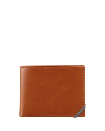 Angolino Leather Bi-Fold Wallet