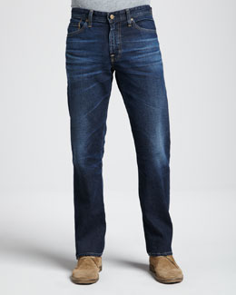 AG Adriano Goldschmied Protege Classic Straight 7-Year Wash Jeans