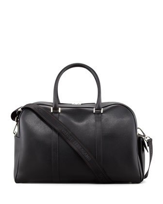 Los Angeles Men's Duffle Bag, Black