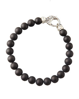 Stephen Webster Beaded Onyx Bracelet, 8mm