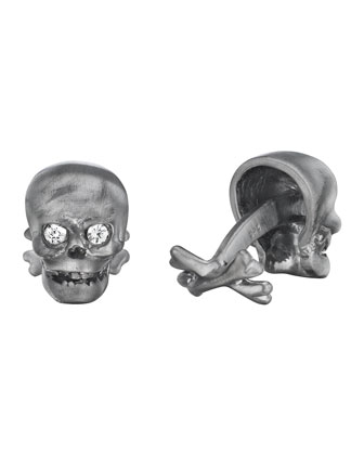 Skull & Crossbones Cuff Links