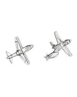Robin Rotenier WWII Fighter Plane Cuff Links
