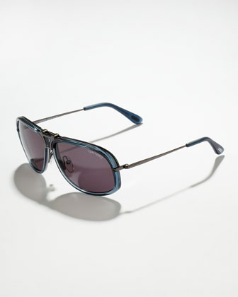 Robbie Interchangable Sunglasses, Tortoise/Mattie Gray
