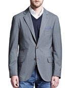 Deconstructed Travel Jacket, Gray
