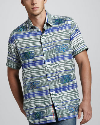 Bolder Short-Sleeve Sport Shirt