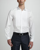 Long-Sleeve Dress Shirt, White