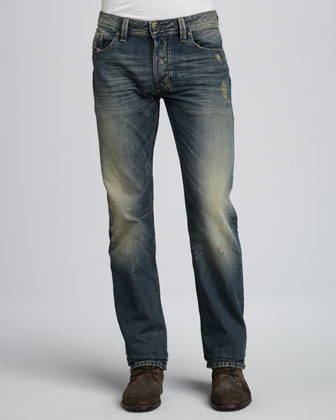 Larkee Basic Light-Blue Wash Jeans