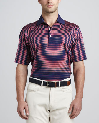 Klifman Polo, Navy/Red