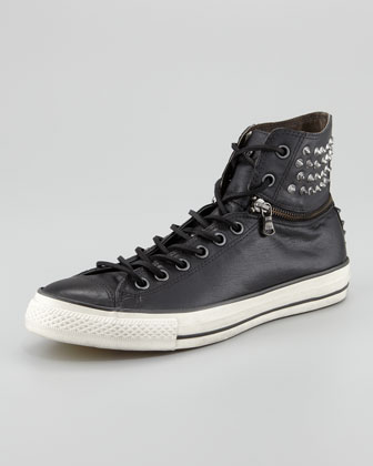 All-Star Studded Convertible Hi-Top, Black