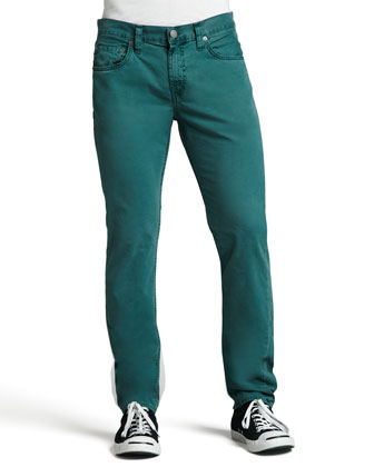 Kane Straight-Leg Jeans, Aquarium