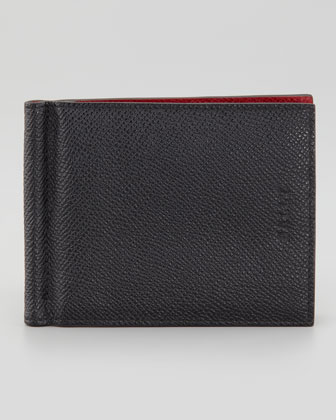 Bodolo Wallet with Clip, Black
