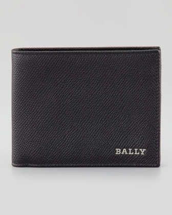 Letrill Pebbled Bi-Fold Wallet