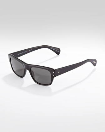 Evason Polarized Sunglasses, Black