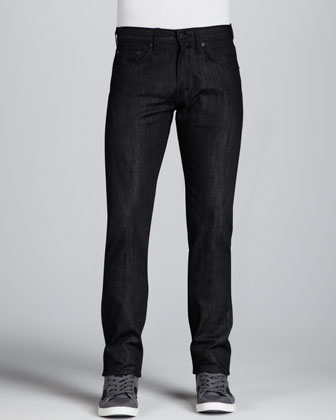 Tyler Black Raw Jeans