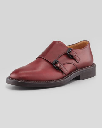 Garrett Double-Monk Shoe