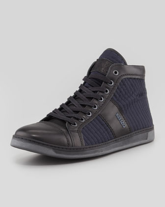 Bennett Quilted High-Top Sneaker
