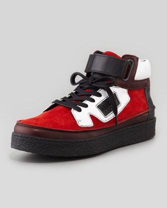 Kenyon Suede High-Top Sneaker