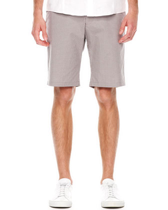 Mini-Check Shorts