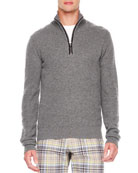 Front-Zip Sweater