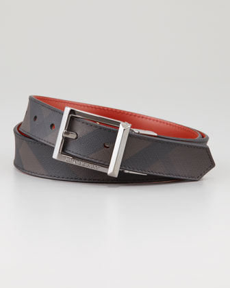 Reversible Check-Print Belt