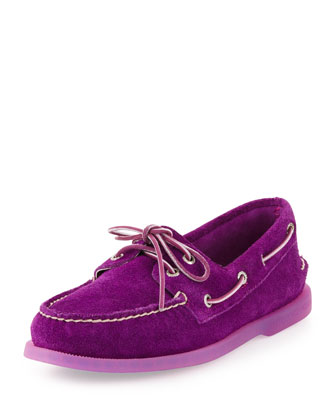 Authentic Original Suede Slip-On, Purple