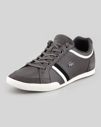 Rayford Striped Leather Sneaker