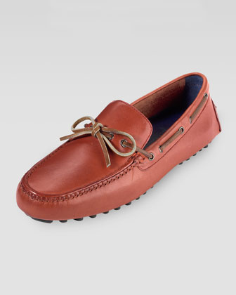 Air Grant Driving Moccasin, Red