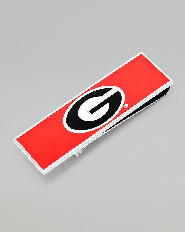 Mens Georgia Bulldogs Gameday Money Clip   Cufflinks   Red (ONE SIZE)