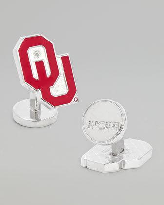 OU Sooners Gameday Cuff Links