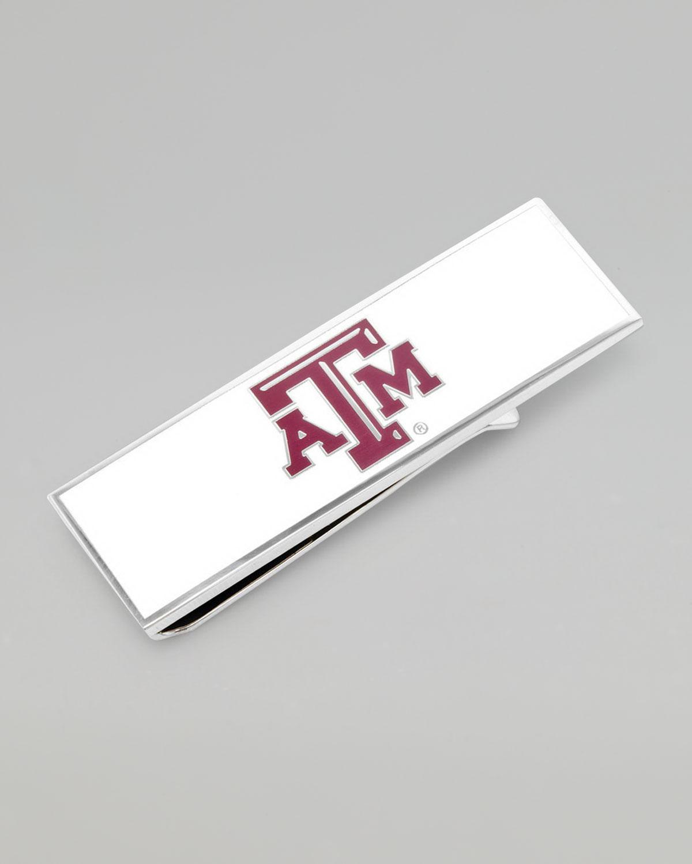 Mens Texas A&M Aggies Gameday Money Clip   Cufflinks   Maroon