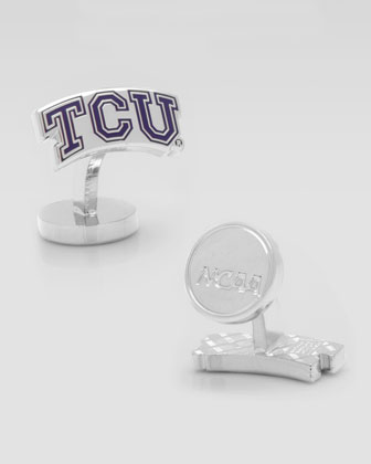TCU Horned Frogs Cufflinks
