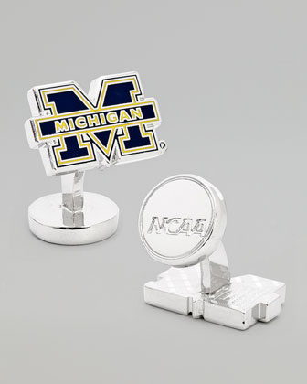 Michigan Wolverines Gameday Cuff Links