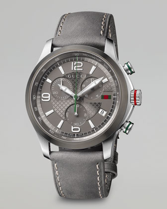 G-Timeless Chronograph Watch, Gray