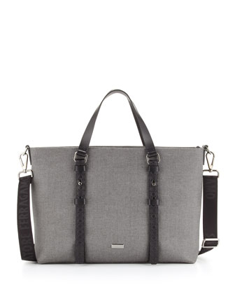Men's New Form Tote Bag, Gray