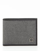 New Form Bifold Wallet, Gray