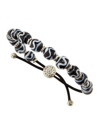 Men's Chain Borneo-Bead Bracelet