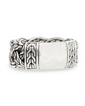Men's Sterling Silver Braid Band Ring