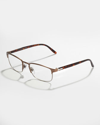 Palladium Havana Fashion Glasses, Brown/Black