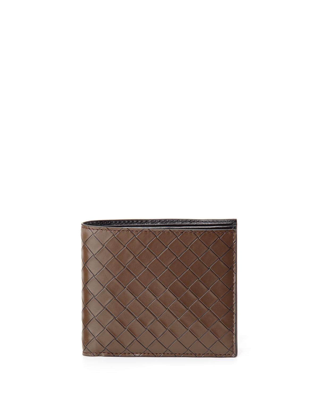 Mens Scolpito Leather Wallet, Brown   Bottega Veneta   Brown