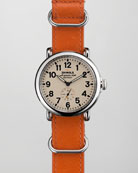 41mm Runwell NATO Strap Men's Watch, Orange