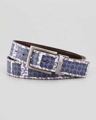 Amapola Men's Reversible Belt, Brown