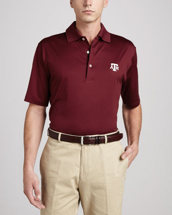 Texas A&M Gameday College Shirt Polo, Maroon