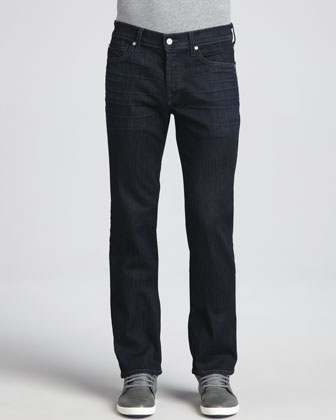Luxe Performance: Standard Midnight Waters Jeans