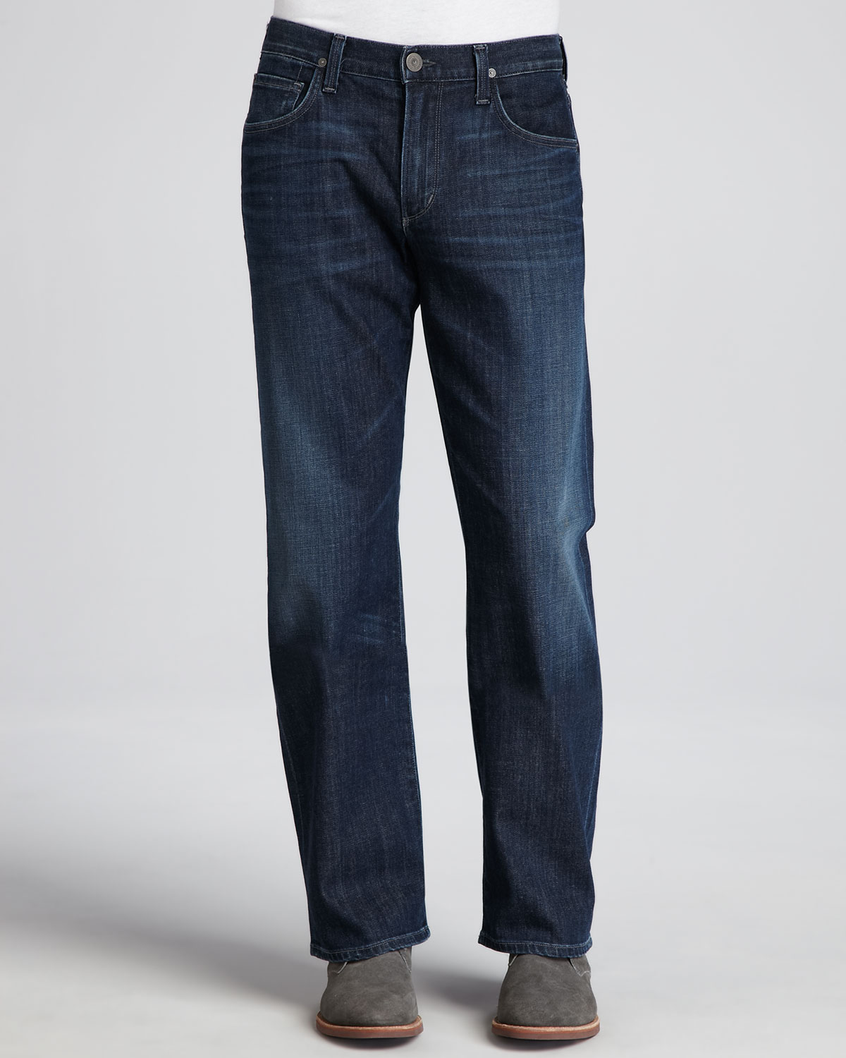 Mens Evans Relaxed Fit Jeans, Ricky   Citizens of Humanity   Medium blue (31)