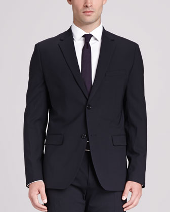Wellar Wool blazer, Navy