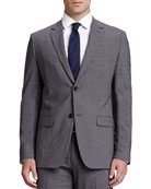 Weller Wool Blazer, Charcoal
