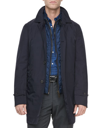 3-in-1 Nylon Jacket, Navy