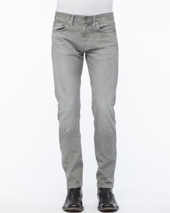 Kane Straight-Leg Jean, Washed Boulder